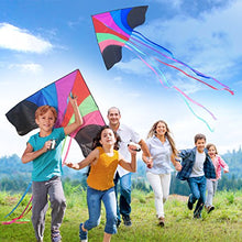 Load image into Gallery viewer, Stoie's Huge Rainbow Kite For Kids And Adults 1.6 M Wide 100 Meter String Rainbow Color Built To Last