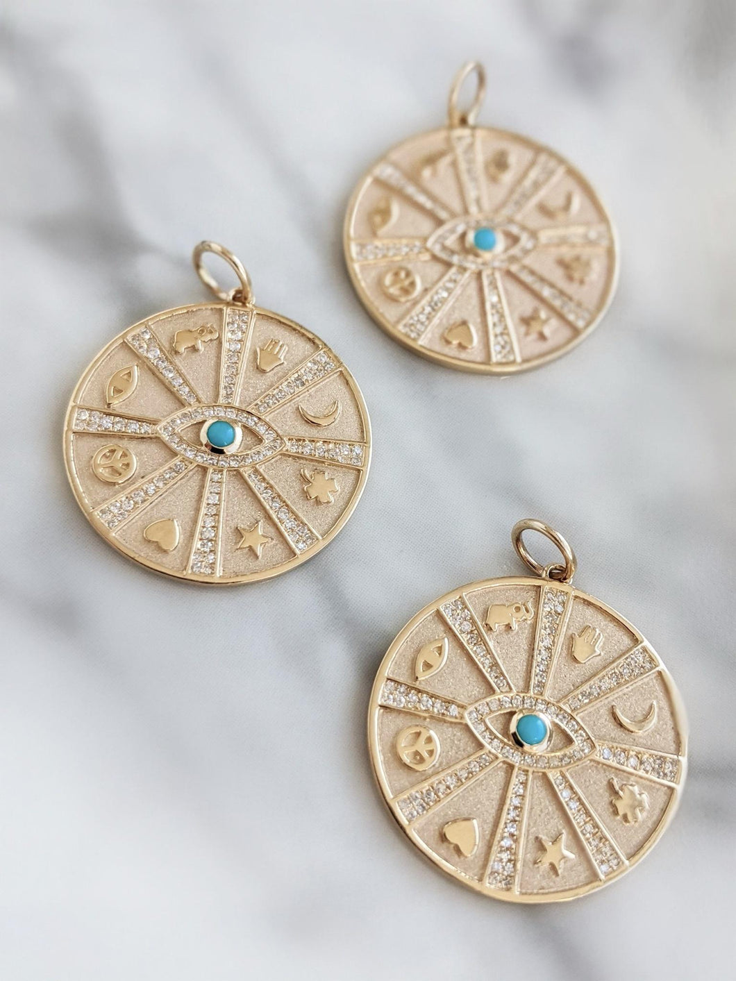 Fortune Wheel Medallion