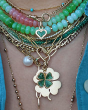 Load image into Gallery viewer, Green Apple Cotton Candy Opal Necklace