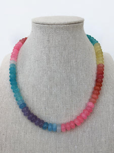 Jelly Bean Jade Necklace