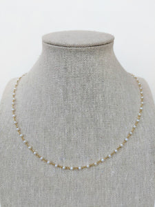 Baby Pearl Chain Necklace