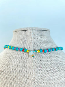 Rainbow Turquoise Necklace