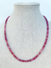 Load image into Gallery viewer, Pink Tourmaline Necklace