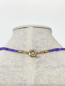 Ethiopian Violet Opal Necklace