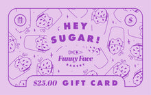 Load image into Gallery viewer, Funny Face Bakery Gift Card