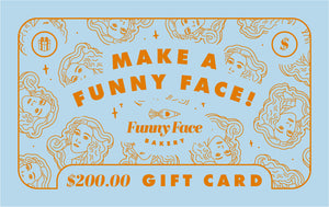 Funny Face Bakery Gift Card