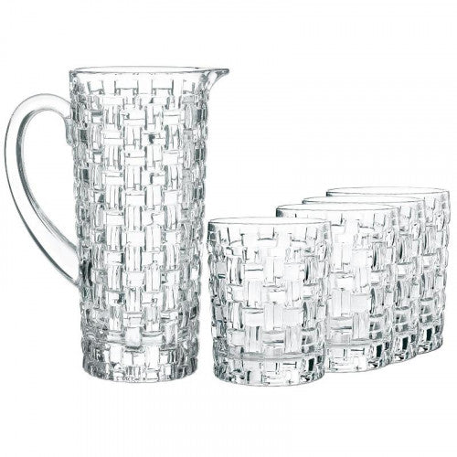 Nachtmann Bossa Nova Pitcher Set - 5 Pieces-Glassware on -Homely.co.ke
