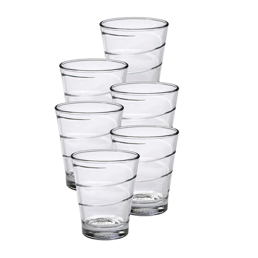 Duralex Spirale Clear Tumbler - 26CL, Set of 6-Tumblers on -Homely.co.ke