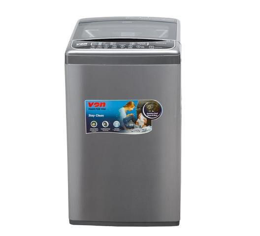 Von VALW-07TSX Top Load Washing Machine - Stainless Steel-Washing Machine on -Homely.co.ke