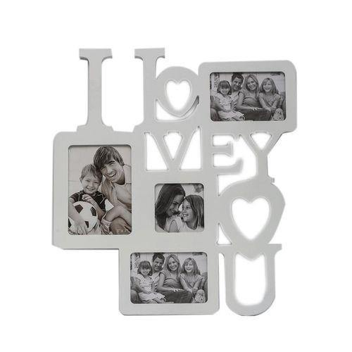 "Sirocco ""I Love You"" Photo Frame - White-Photo Frame on -Homely.co.ke"