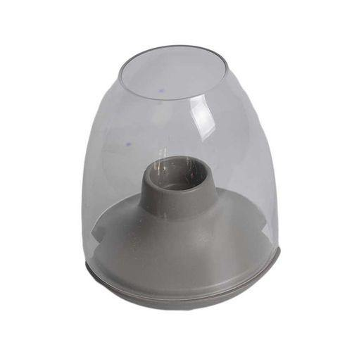 Sirocco Candle Holder - Small - Deep Grey-Candle Holder on -Homely.co.ke