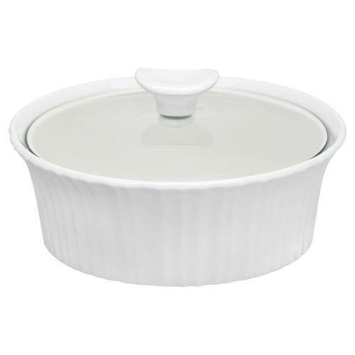 Corelle Casserole With Glass Lid - French White-Serveware on -Homely.co.ke