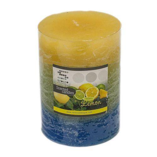 Sirocco Lemon Scented Candle-Candle on -Homely.co.ke