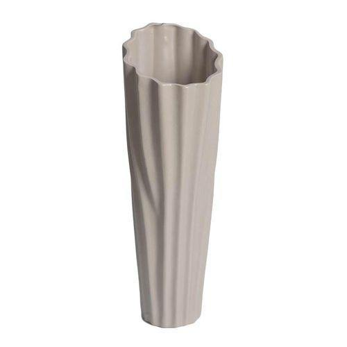 Sirocco Ceramic Vase - Small - Grey-Yellow-Vase on -Homely.co.ke