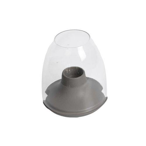 Sirocco Candle Holder - Medium - Deep Grey-Candle Holder on -Homely.co.ke