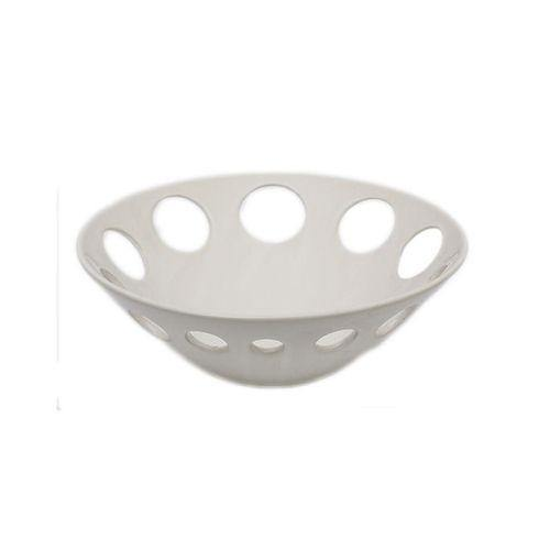 Sirocco Decorative Bowl - White-Decor on -Homely.co.ke