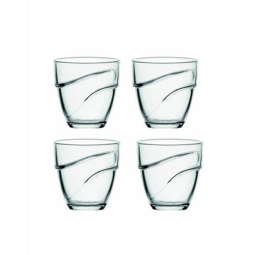 Duralex Wave Tumbler - 22CL, Set of 4-Tumblers on -Homely.co.ke