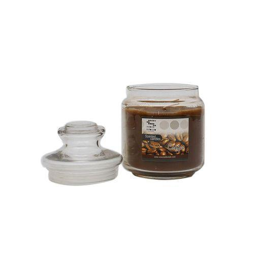 Sirocco Coffee Scented Candle-Candle on -Homely.co.ke