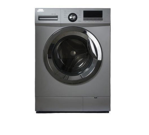 Von Hotpoint VALW-07FXS Front Load Washing Machine - Silver-Washing Machine on -Homely.co.ke