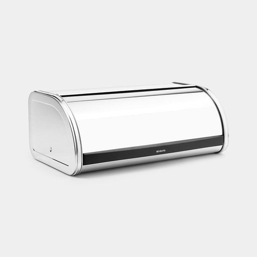 Brabantia Bread Bin Roll Top Medium Brilliant Steel 11L-Bread Bin on -Homely.co.ke