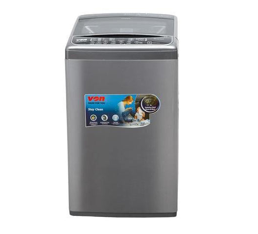 Von VALW-12TSX Top Load Washing Machine - Stainless Steel-Washing Machine on -Homely.co.ke