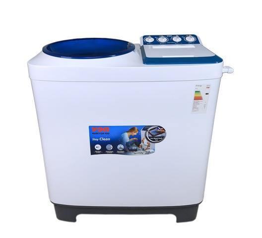 Von VALW-10MLB Twin Tub Washing Machine - White-Washing Machine on -Homely.co.ke