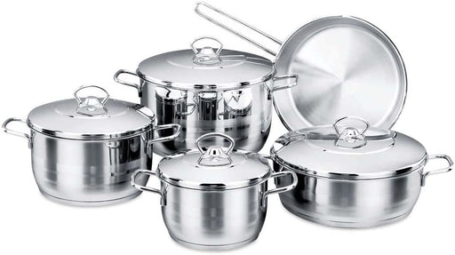 Korkmaz Astra Cookware Set - 9 Pieces-Cookware on -Homely.co.ke