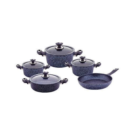 Haschever Stoneco Cookware Set - 9 Pieces-Cookware on -Homely.co.ke