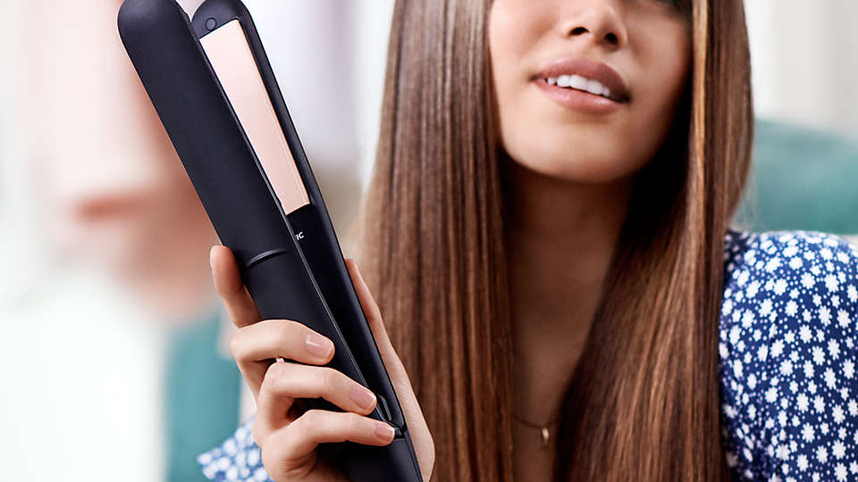 Philips StraightCare Essential ThermoProtect straightener-Hair Straightener on -Homely.co.ke