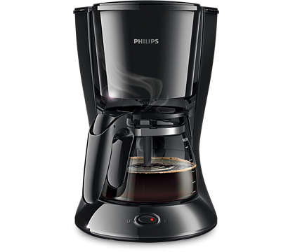 Philips Daily Collection Coffee Maker Black-Coffee Maker on -Homely.co.ke