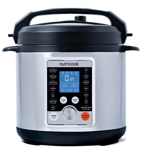 Nutricook NC-SPPL6 Smart Pot Pro + Pressure Cooker - 6L-Smart pot on -Homely.co.ke