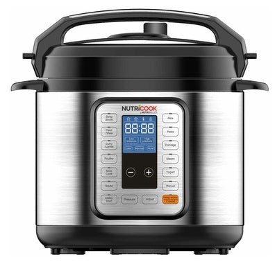 Nutricook Smart Pot NC-PRO 6 9 in 1 Pressure Cooker-Smart pot on -Homely.co.ke