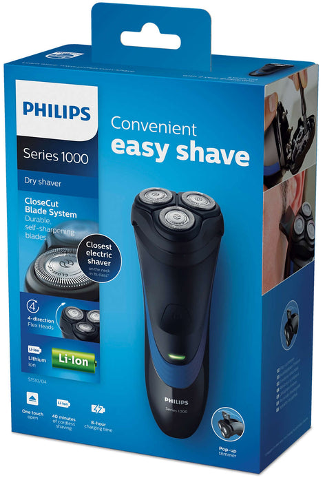 Philips Shaver Series 1000 Dry Electric Shaver with pop-up Trimmer-Male Shaver on -Homely.co.ke