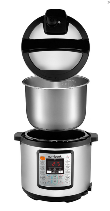 Nutricook NC-SPEK6 Eko Smart Pot + Pressure Cooker - 6L-smart pot on -Homely.co.ke