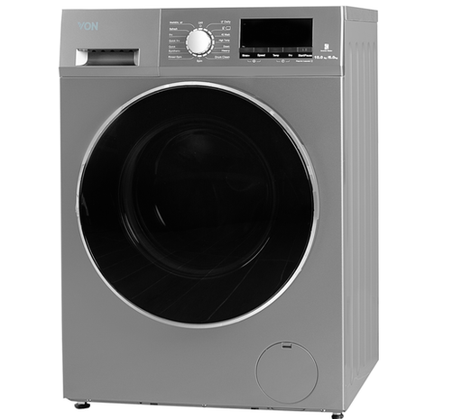 Von VAWD-106FGS Washer & Dryer Front Load 10/6 KG - Silver-Washer / Dryer on -Homely.co.ke