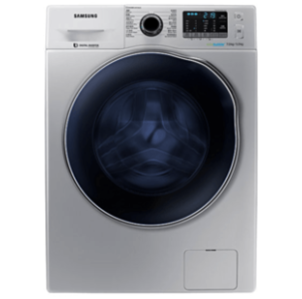 Samsung WD70J5410AS Front Load Washer-Dryer - Silver-Washing Machine on -Homely.co.ke
