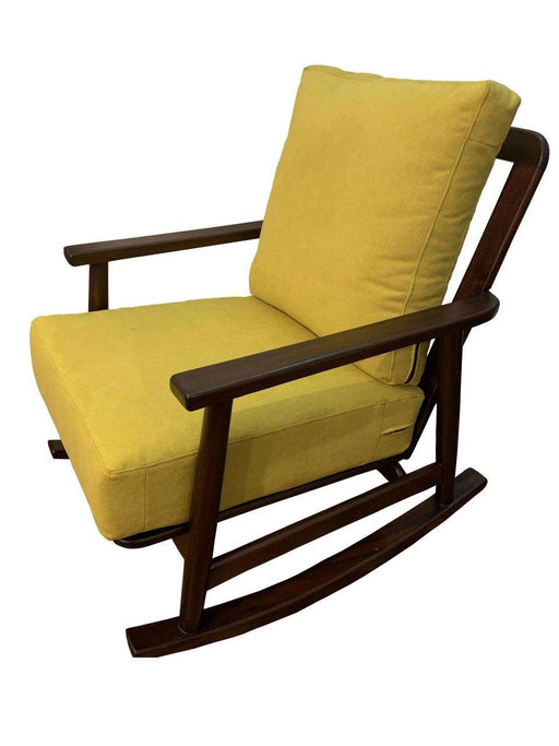 Green Furniture Padded Rocking Chair-Rocking Chair on -Homely.co.ke