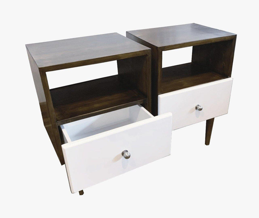 Green Furniture Bedside Unit-Bedside Unit on -Homely.co.ke