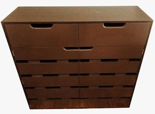 Green Furniture Chest - Mahogany-Chest on -Homely.co.ke