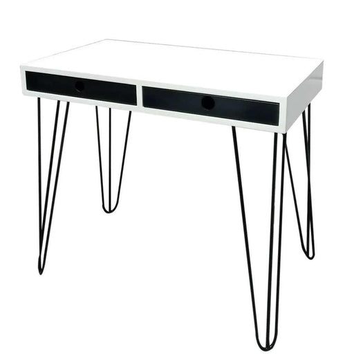 Green Furniture Black And White Table Top-Work Desk on -Homely.co.ke