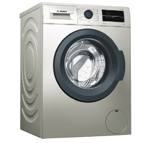 Bosch WAJ2018SKE Front Load Washing Machine - Silver-Washing Machine on -Homely.co.ke