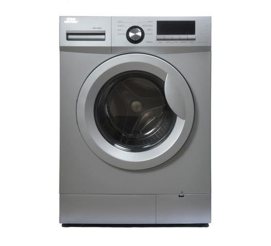 Von Hotpoint VALW-06FXS Front Load Washing Machine - Silver-Washing Machine on -Homely.co.ke