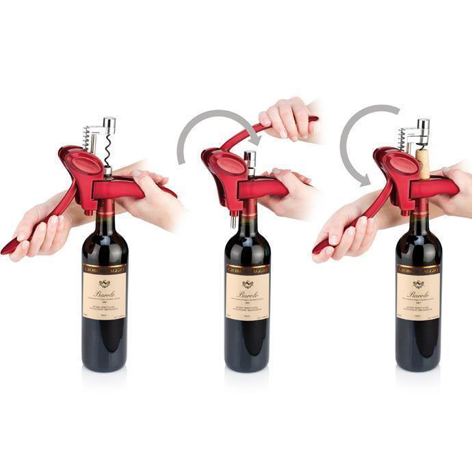 Uno Vino Lever Corkscrew-Lever Corkscrew on -Homely.co.ke