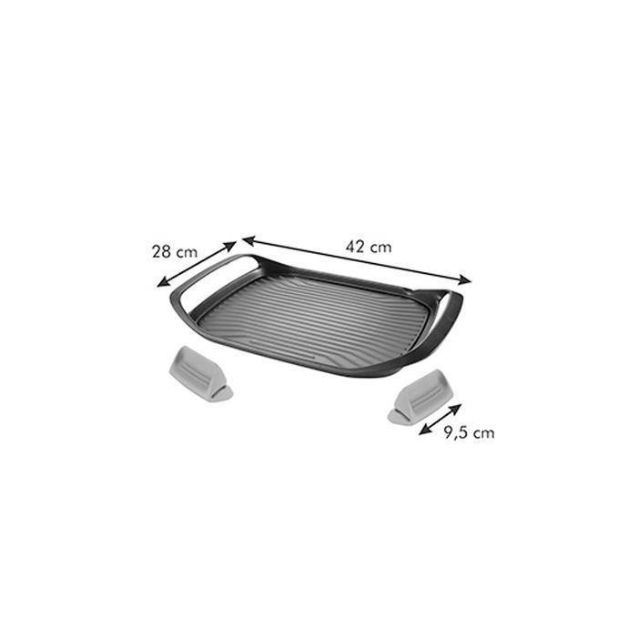 Tescoma Smartclick Non-Stick Grilling Pan-Grilling Pan on -Homely.co.ke