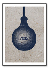 Lightbulb - plakat