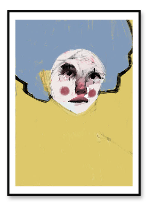Yellow Clown - plakat
