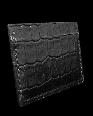 croco card holder