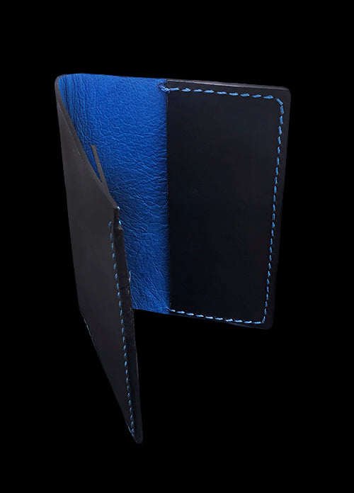 Handmade Leather Passport DOT-Design