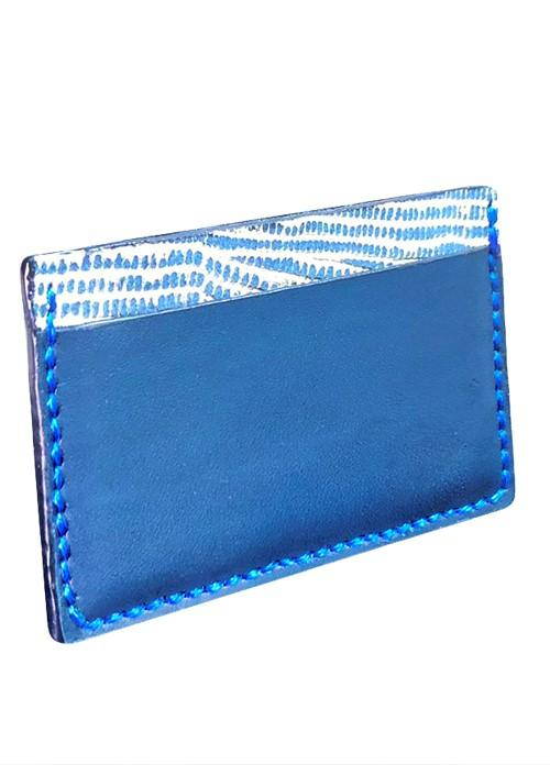 Handmade Leather Card Holder DOT-Design