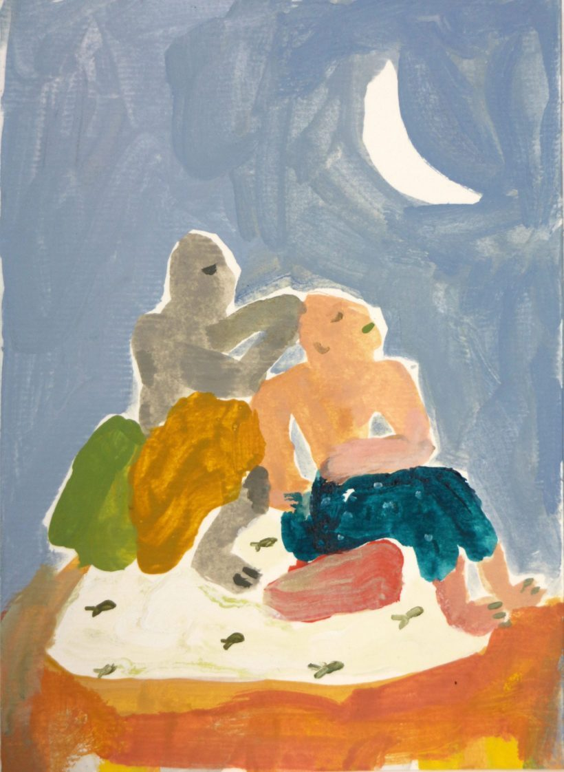 Two Figures and a Moon - Karma Kollective